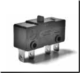 Saia-Burgess Snap-action Micro Switches Type K5KR